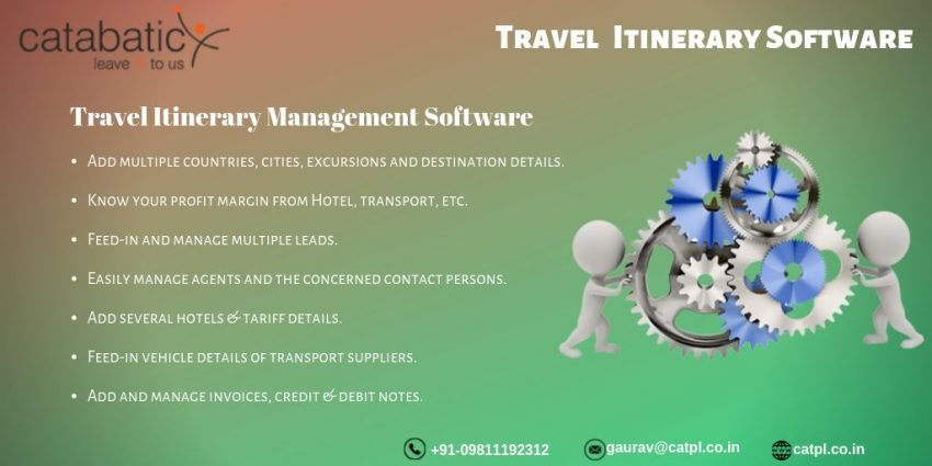 Travel Itinerary Management CRM