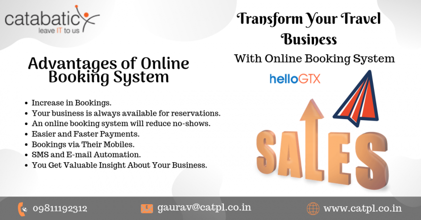 Transform Travel Business With Online Booking System