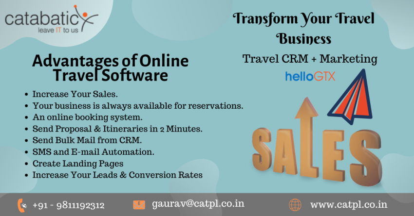 CRM Software Useful for Startup Travel Agencies